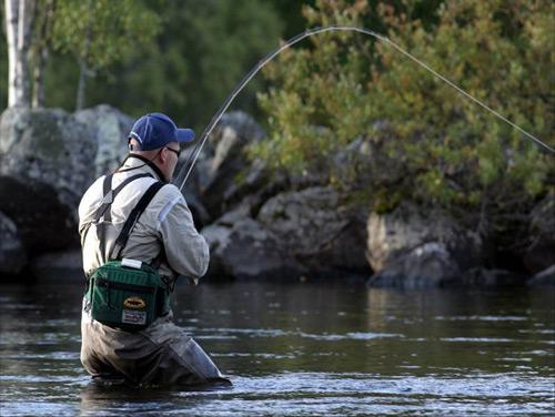 Рыбалка с глубины очень интересна своими ощущениями