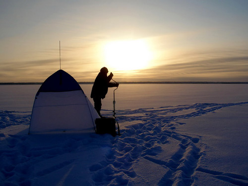 У зимней рыбалки своя философия и какое-то особое притяжение