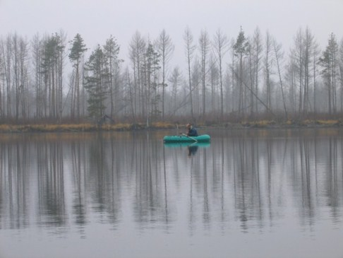 Рыбалка поздней осенью