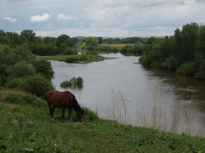 Слияние двух рек в одну