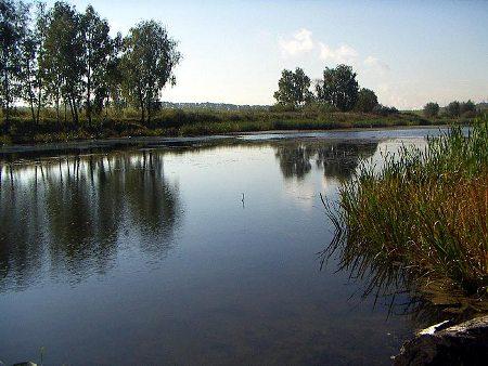 Типичная река для европейской части России