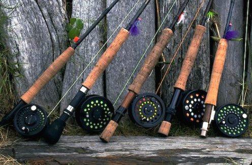 Рыбалка нахлыстом. Удилище