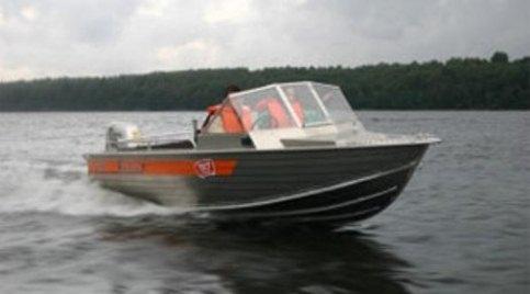 Алюминиевая лодка для семейного отдыха