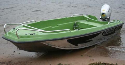 Алюминиевая лодка после тюнинга
