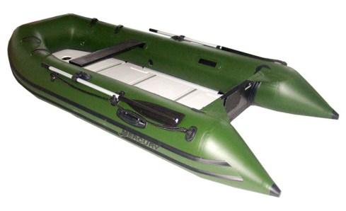 Надувная лодка для рыбной ловли