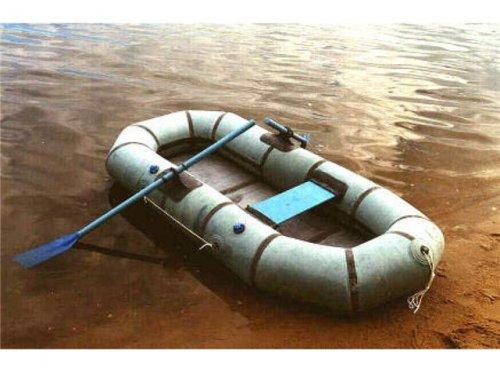 Резиновая лодка плохо подходит для ловли на кружки