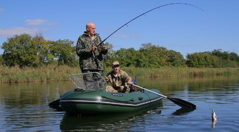 Оснастка для рыбалки с лодки