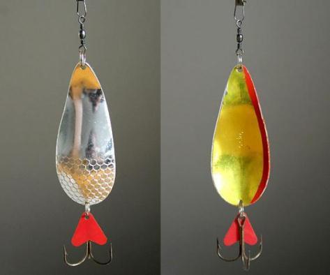 Блесны для ловли крупной рыбы