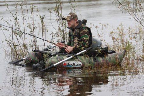 Рыбалка с надувной лодки