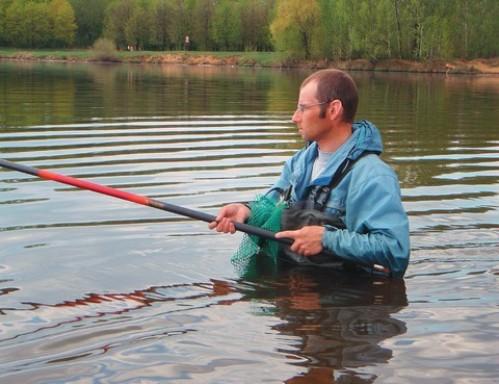 Активный поиск рыбы