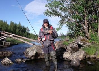 Учимся рыбачить при быстром течении воды в водоёме