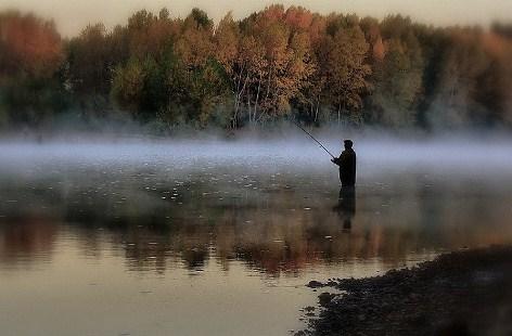 Рыбная ловля на спиннинг в осенний период