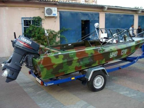 Транспортировка катера к месту рыбалки