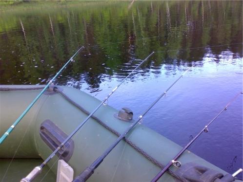 Ловля на несколько удочек с лодки