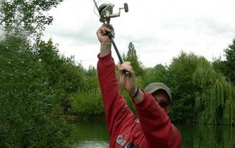 Заброс одноручного спиннинга длинной до 2 метров