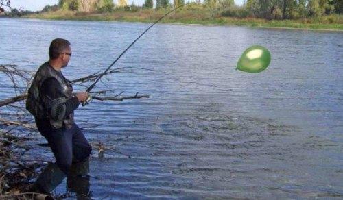 Заброс снастей с шариком