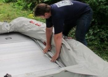Как ухаживать за надувной лодкой?