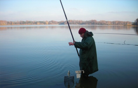 Маховая удочка для рыбалки