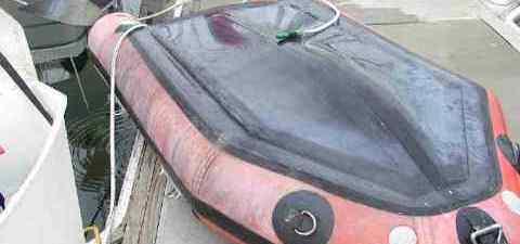 Уход за резиновой надувной лодкой