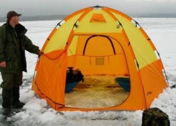 Выбираем палатку для комфортной рыбалки зимой