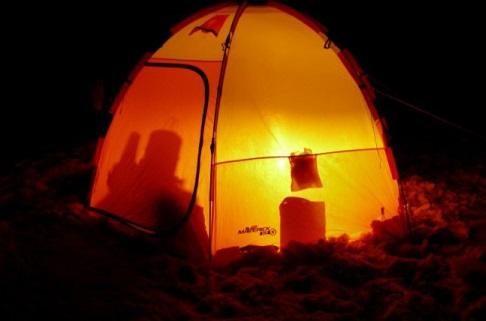 Одноместная палатка для рыбной ловли