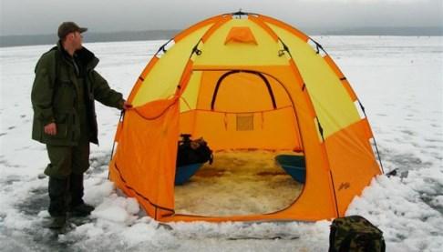 Палатка для зимней рыбной ловли