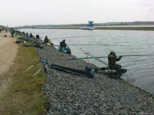 Соревнования по ловли на штекерное удилище