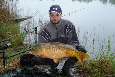 Ловля крупной рыбы в дождь