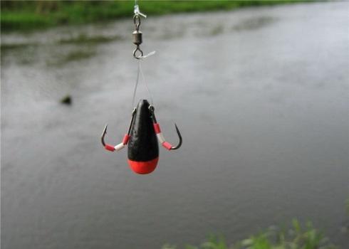 Рыбная ловля на балду с берега