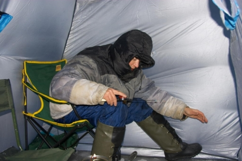 Рыбная ловля в зимний период