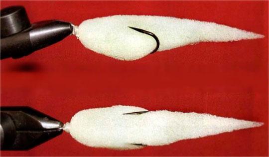 Поролоновая рыбка собственного производства