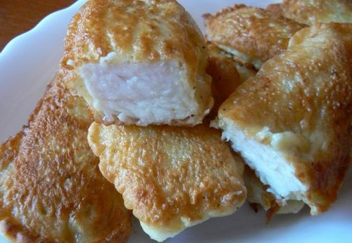 Рыба в кляре - аппетитное блюдо, так и хочется съесть