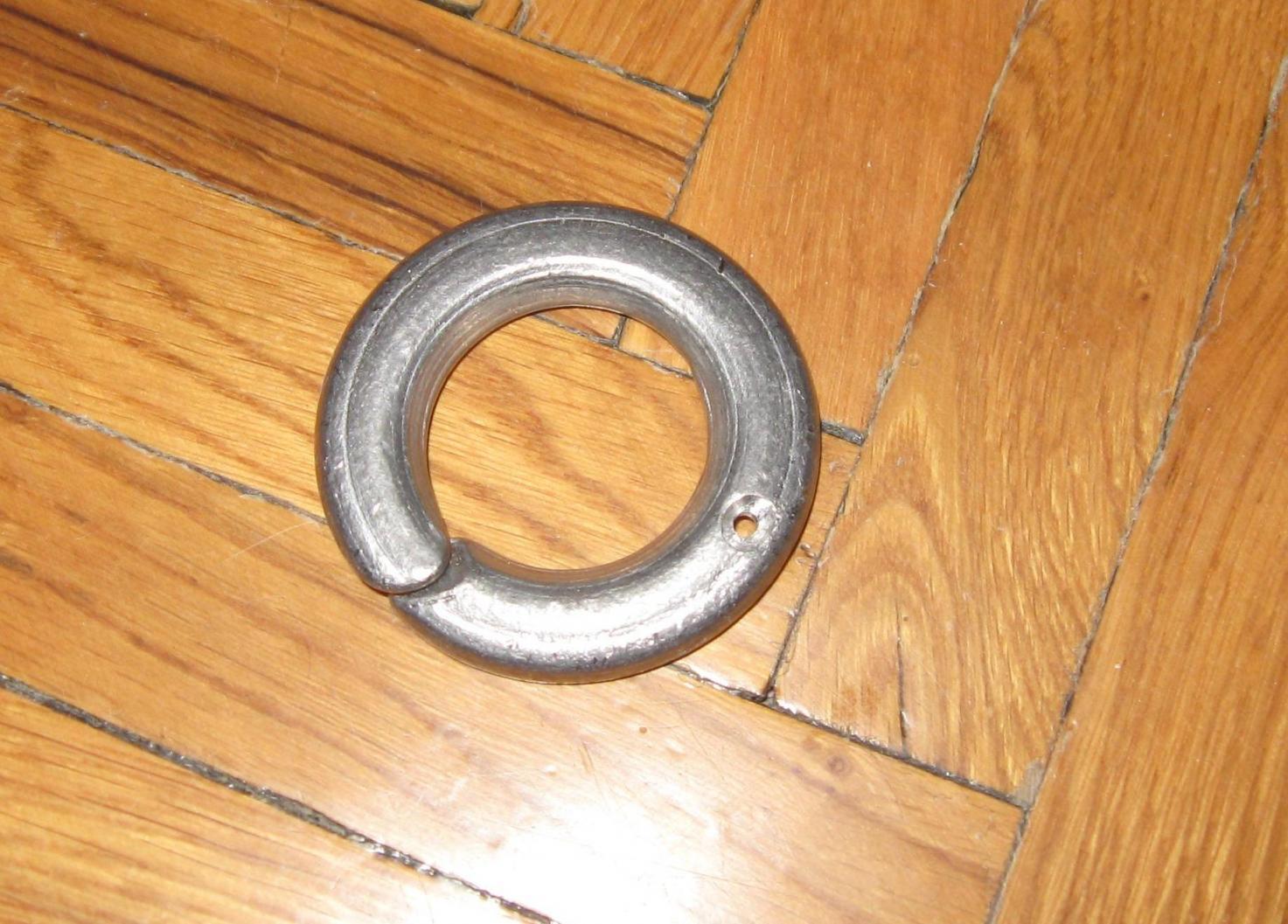 кольцо для бортовой удочки