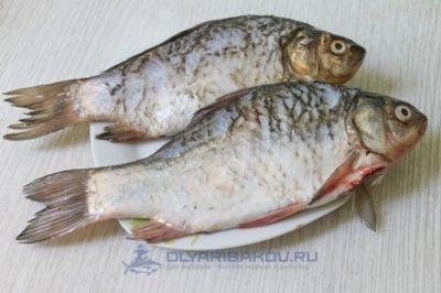 как делать автоклавом рыбу карасей рецепт