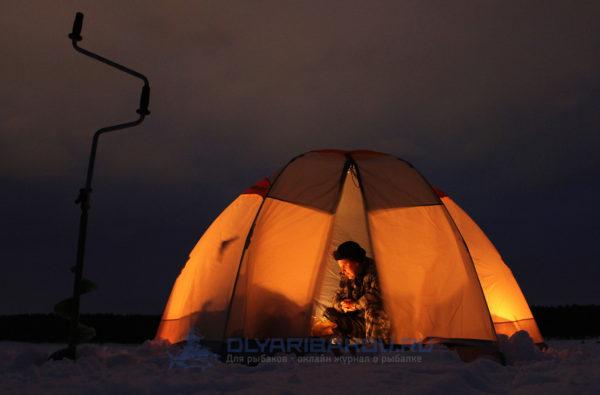 Ночная зимняя рыбалка: снаряжение, прикормка, безопасность