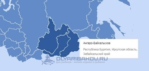 Ангаро-Байкальский рыбохозяйственный бассейн. Нерестовый запрет 2019