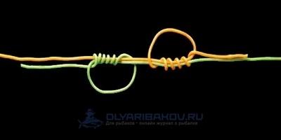 Узел Лидер (Leader Knot): пошаговая схема вязания с видео